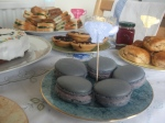 Mothers Day Lavender Macarons