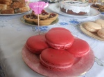 Mothers Day Rose Macarons