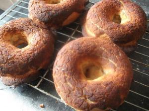 B Dutch Crunch Bagels Cropped