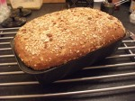 A Seeded Sourdough Tin Baked