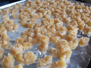 Crystallised Ginger Baked