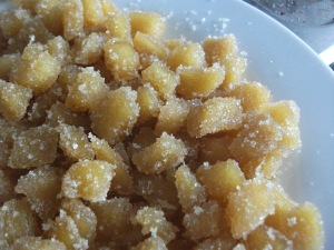 Crystallised Ginger Sugared