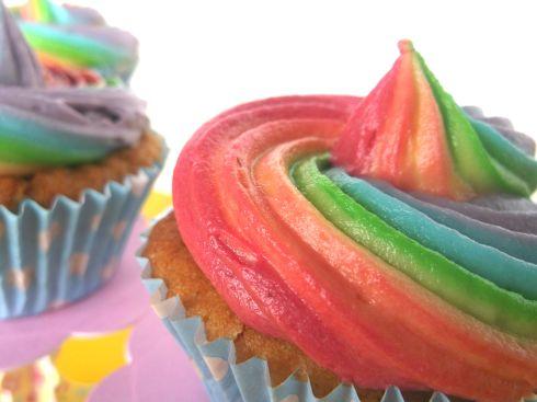 Rainbow Cakes 121