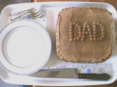 Dad Cake Tray