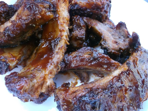 Ribs Cooked