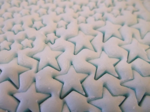 Sapphire Sprinkles Stamped