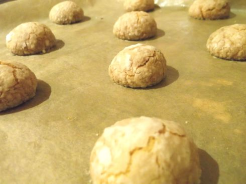 Olive Oil Almond Biscuits Baked