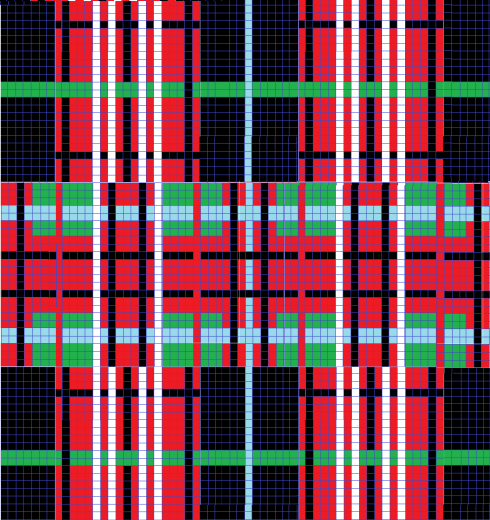 Finished Tartan
