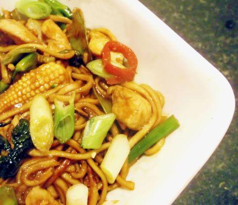 Finished Lingham's Noodles