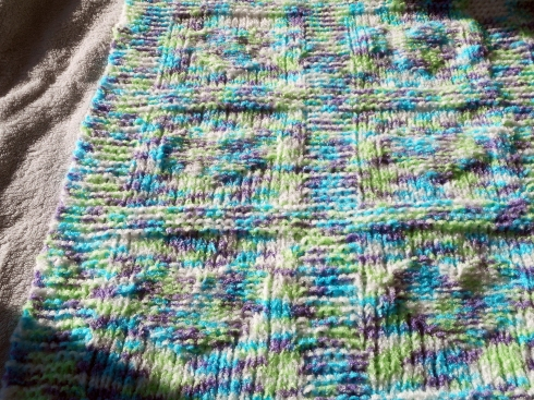 Hearts Baby Blanket 001