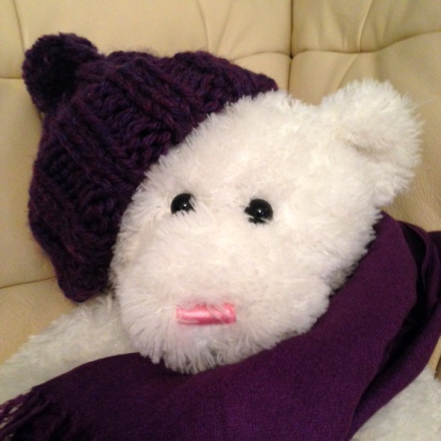 Purple Hat Bear